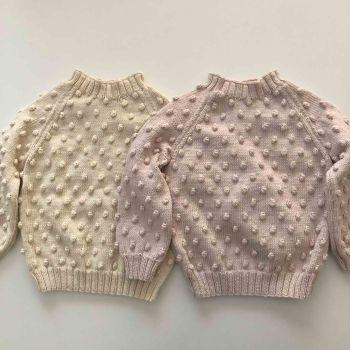 Popcorn Sweater - choose colors