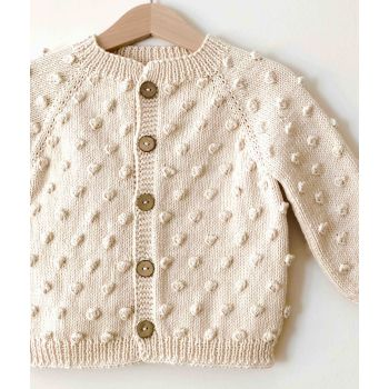Popcorn Cardigan - select colors