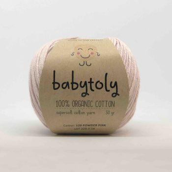Organic Cotton Yarn - POWDER PINK