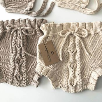 Rococo Bloomers - beige, natural