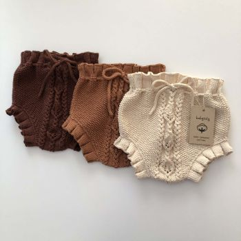 Rococo Bloomers - terracotta, chocolate, natural