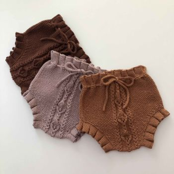 Rococo Bloomers - terracotta, dusty rose, chocolate