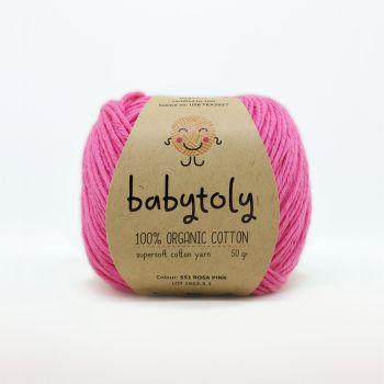 Organic Cotton Yarn - ROSA PINK