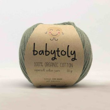 Organic Cotton Yarn - SAGE