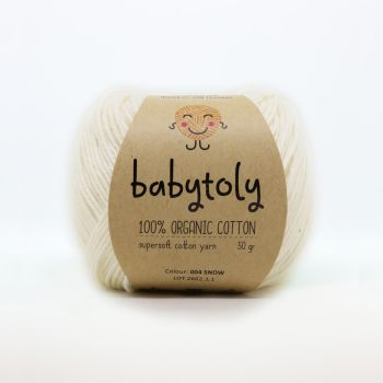 Organic Cotton Yarn - SNOW