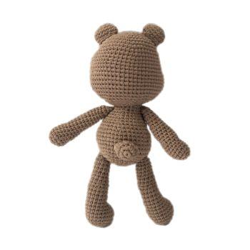 """Teddy Bear Tuffy 9.5"""" - 24 cm"""
