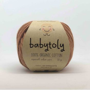 Organic Cotton Yarn - TERRACOTTA