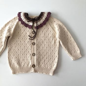 Winsley Cardigan - Natural